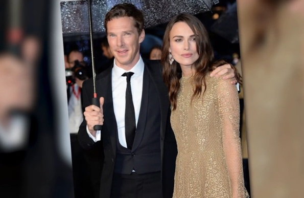 keira knightley and benedict cumberbatch london film festival the imitation game