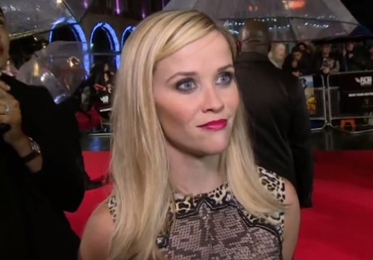 reese witherspoon red carpet wild london premiere