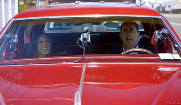 sarah jessica parker comedians in cars with coffee jerry seinfeld