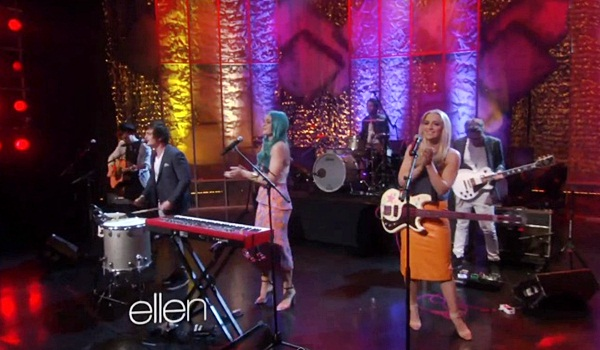 shepphard on the ellen show australian band