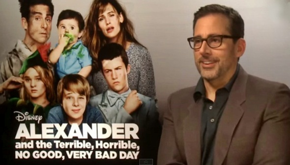 steve carell alexander and the very bad