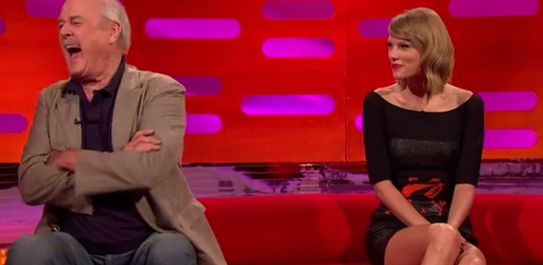 taylor swift and john cleese on the graham norton show