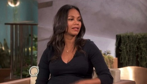 zoe saldana queen latifah