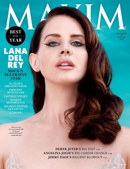 Lana del Rey cover of Maxim