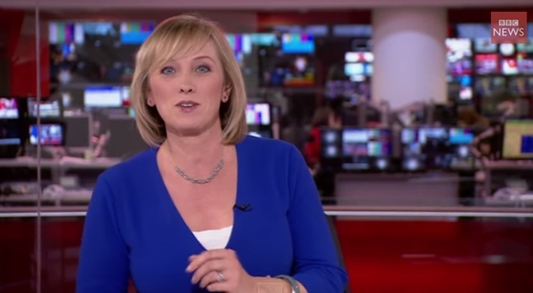 "BBC's Martine Croxall ""You Can Pretend Like You Haven't Noticed"" - Lovely (Video)"