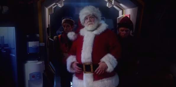 nick frost sean of the dead doctor who father christmas