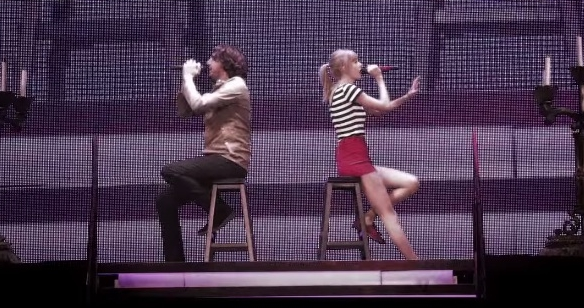 taylor swift gary lightbody the last time