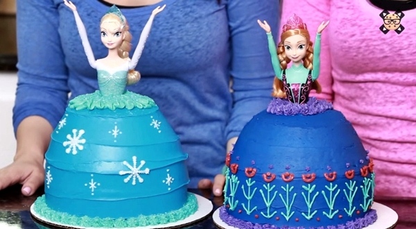 Princess Birthday Cakes Games