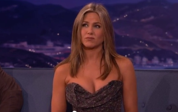 Jennifer Aniston's Deleted Sex Scene Makes Her Uncomfortable, but So Cute (Video)