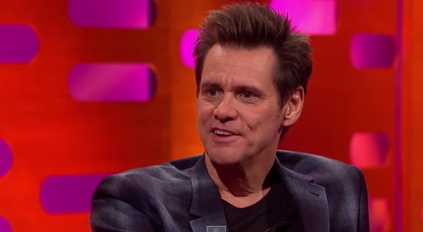 Jim Carrey Tells Graham Norton About Praying For What He Wants (Video)