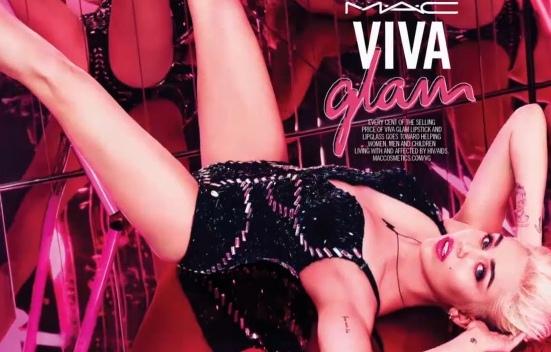 Miley Cyrus Mac Viva Glam