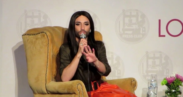 conchita at la press club