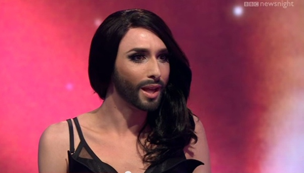 Conchita Wurst on BBC's 'Newsnight': Number 1 on Russian iTunes Charts (Video)