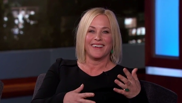 patricia arquette golden globes win boyhood jimmy kimmel