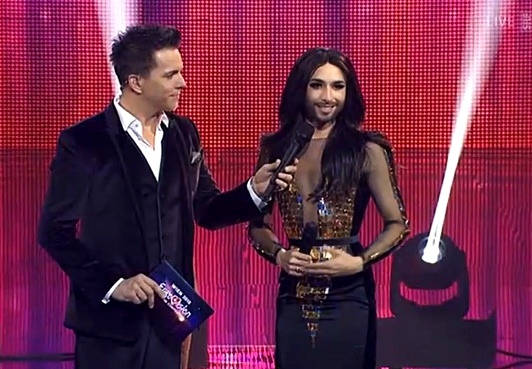 Conchita Wurst Swiss Eurovision National Final Entscheidungsshow