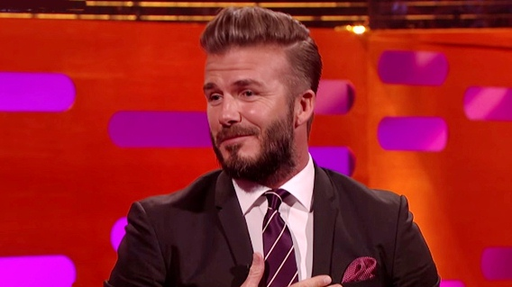 david beckham hairstyles graham norton