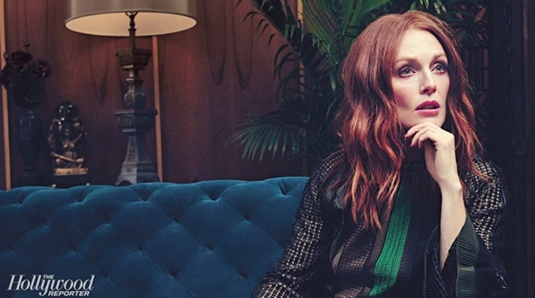 julianne moore gorgeous hollywood reporter cover