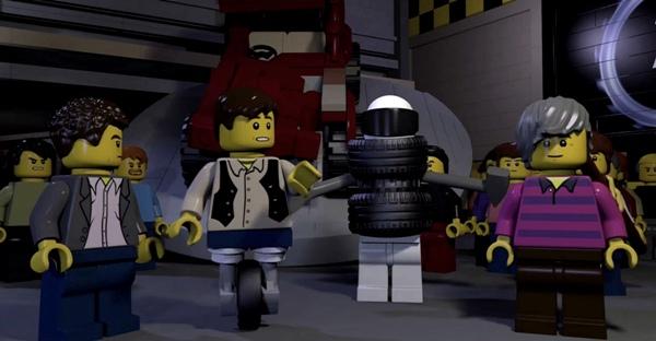 lego top gear behind the scenes
