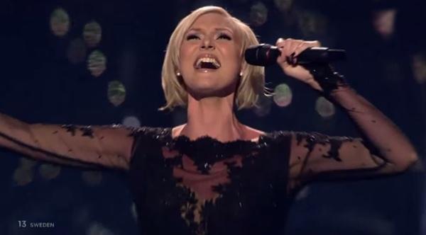 sanna nielsen undo eurovision final