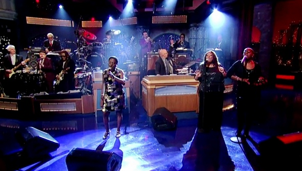 sharon jones david letterman making up and breaking up