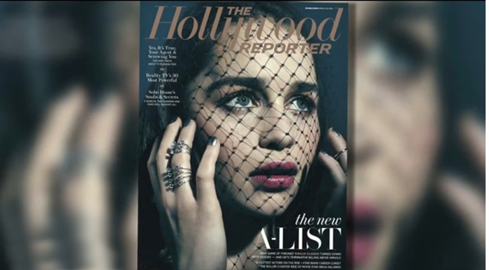 emilia clarke the hollywood reporter game of thrones
