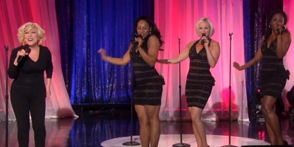 bette midler sang 'Be My Baby' on Ellen
