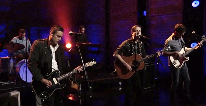 calexico on conan falling from the sky