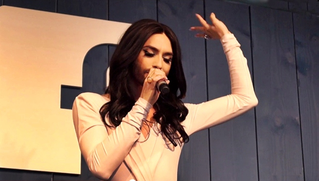 conchita at facebook hamburg