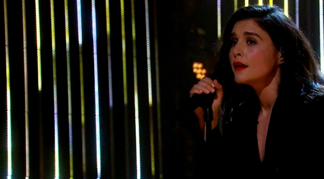 jessie ware sang 'Say You Love Me' The Late Late Show