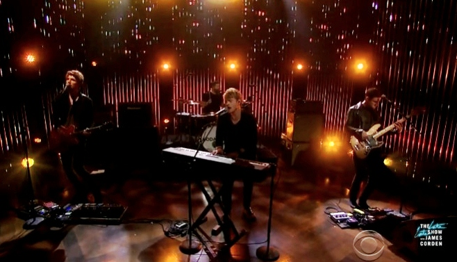 kodaline james corden late late show the one