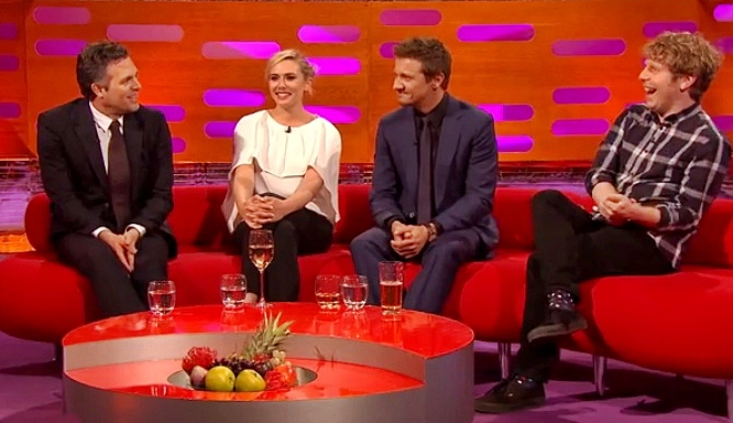 mark ruffalo and josh widdicombe graham norton