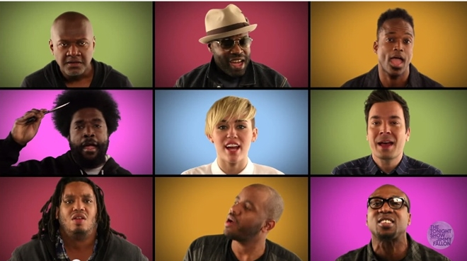 miley cyrus the roots jimmy fallon we can't stop