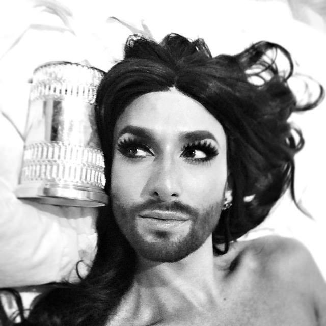 sexy Conchita april 9, 2015