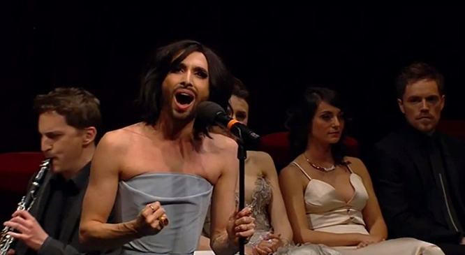 Conchita Wurst Pop Meets Opera Vienna