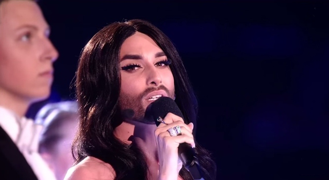 Conchita Wurst esc semi final 1