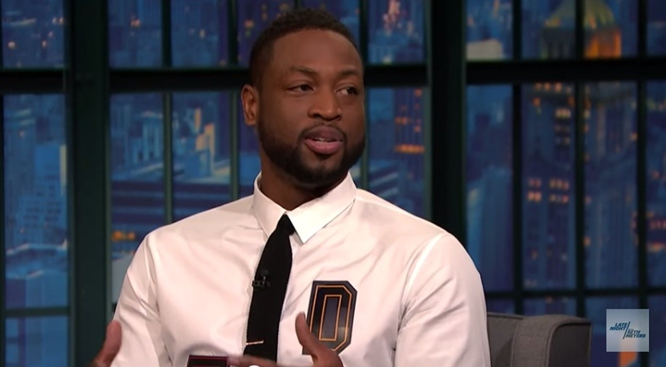 Dwyane Wade on Seth Meyers