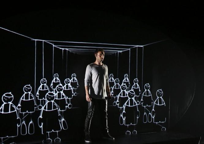 Måns Zelmerlöw, Sweden Heroes Eurovision rehearsal