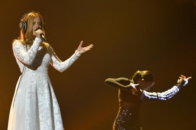 Maraaya Slovenia 2nd rehearsal at Eurovision in Vienna