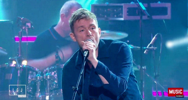 blur girls and boys le grand journal