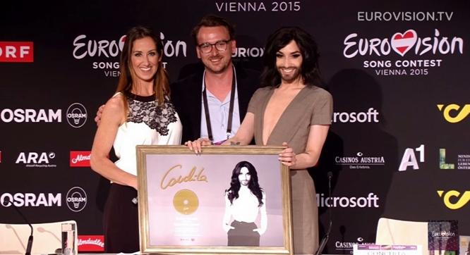 conchita wurst platinum album