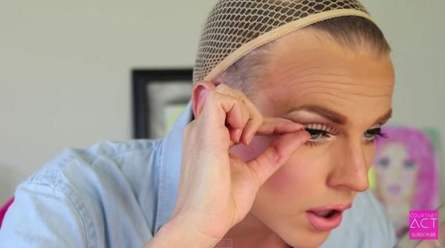 courtney act make up tutorial drag make up