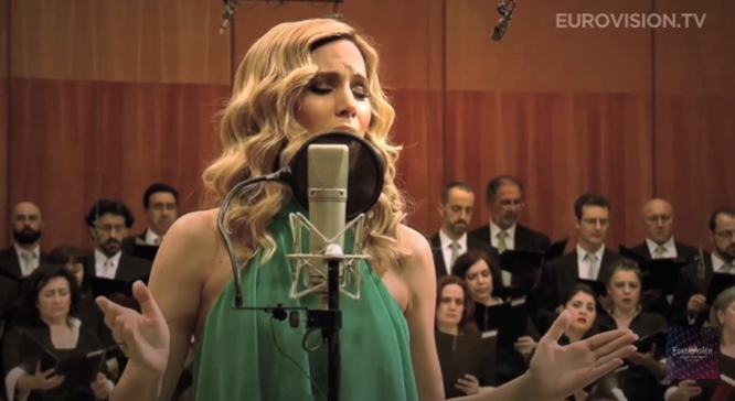 Edurne Releases Symphonic Version of 'Amanecer': Countdown to Eurovision 2015 (Video)