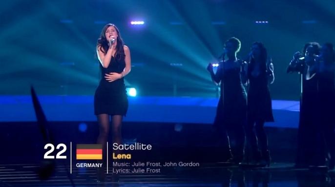 lena satellite live eurovision