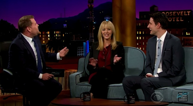 lisa Kudrow james corden neurotic