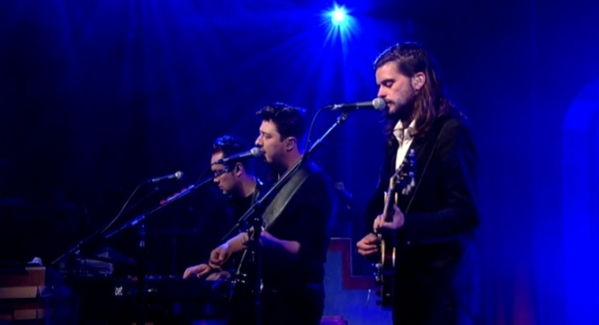 mumford and sons believe on letterman