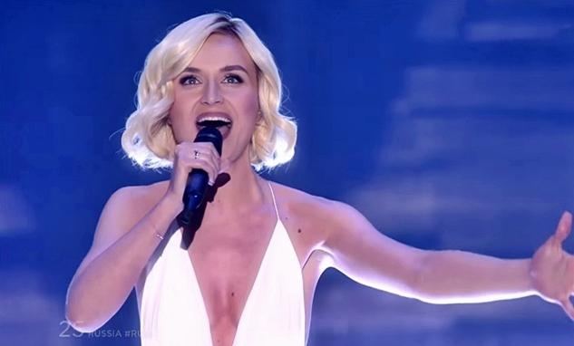 polina gagarina a million voices russia live eurovision final 2015