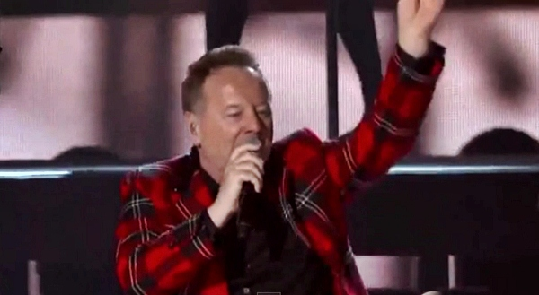 simple minds live at billboard music awards