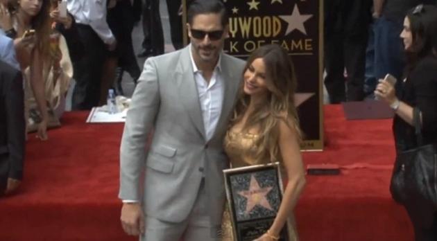 sofia vergara hollywood walk of fame star