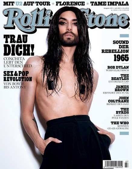 Rolling Stone Conchita Wurst