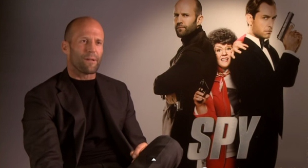 "Jason Statham on Playing Rick Ford in 'Spy' - ""He's Not a Bumbling Idiot"" (Video)"
